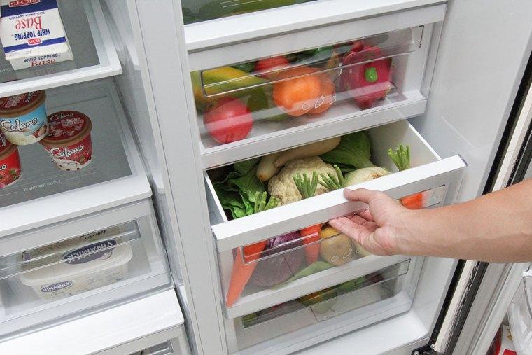 Tìm hiểu về dòng tủ lạnh side by side đắt tiền? Ảnh 5