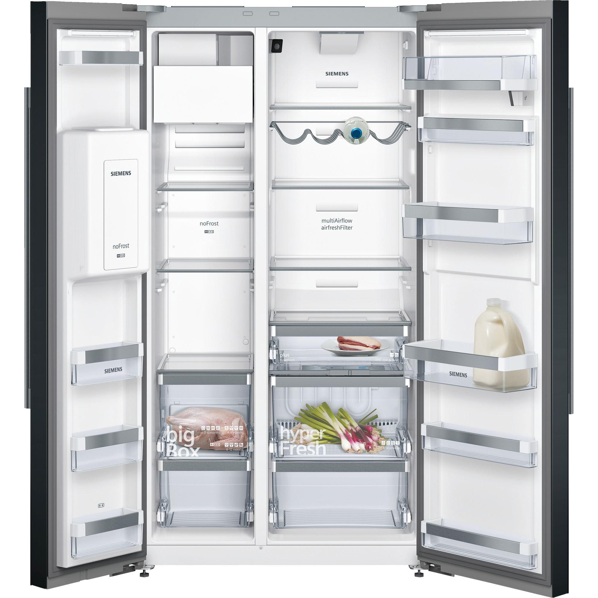 Tủ lạnh side by side Siemens KA92DHB31