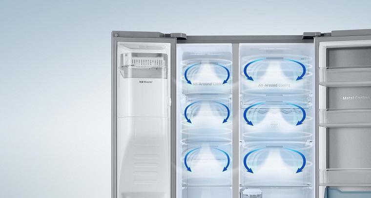 Hệ thống làm lạnh đa chiều trên tủ lạnh là gì?