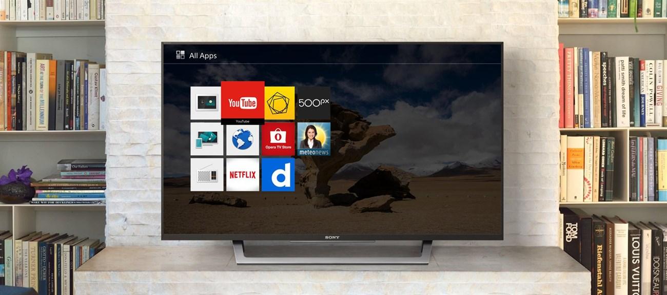 Internet tivi có giao diện đơn giản hơn Smart tivi