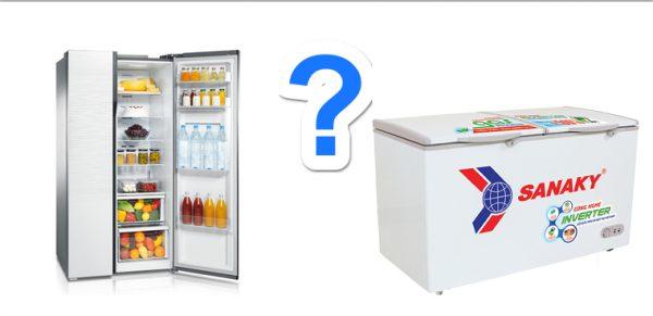 nên mua tủ lạnh hay tủ đông